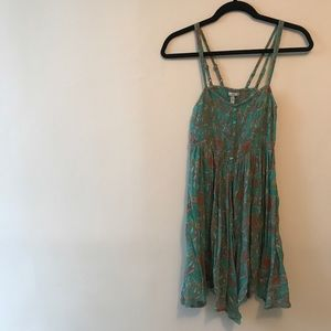 O'Neill Turquoise Patterned Dress